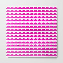 BREE ((hot pink)) Metal Print