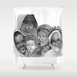 Proud Family Shower Curtain