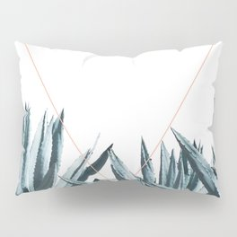 Agave Triangle Pillow Sham