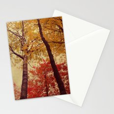 Autumn Couple Stationery Cards