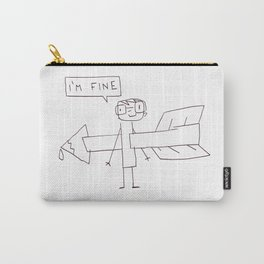 Just fine Carry-All Pouch