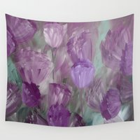 breaking Wall Tapestries featuring Breaking Dawn by Jennifer Warmuth Art And Design
