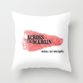 It's all about the words... Throw Pillow