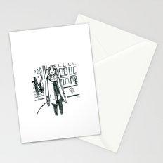 Brush Pen Fashion Illustration - Dreamer Stationery Cards