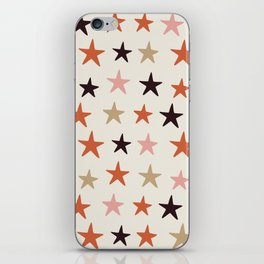 Star Pattern Color iPhone Skin