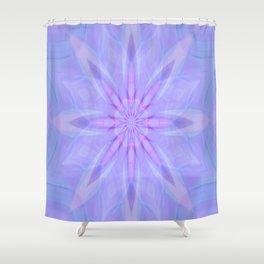 Jeweled Flower..... Shower Curtain