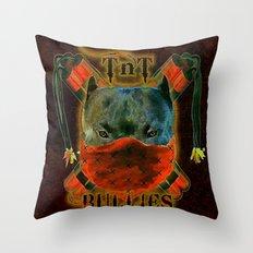Bullies - 055 Throw Pillow