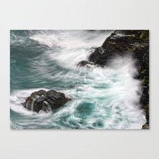 Atlantic Coast, Cornwall UK Canvas Print