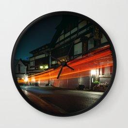 Narita at Night Wall Clock