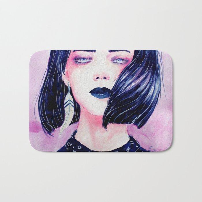 Purple Bath Mat