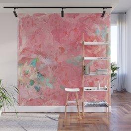 Painted Roses Wall Mural