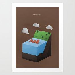 Cuteness Art Print
