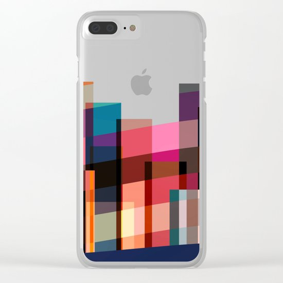 Dancing New York Clear iPhone Case