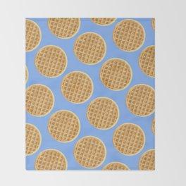 Waffles Throw Blanket