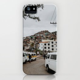 Streets of Brazil iPhone Case