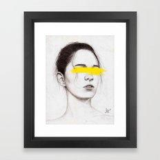 THE QUEEN v.2 Framed Art Print