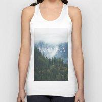 washington Tank Tops featuring WASHINGTON by shannonfinnphotography
