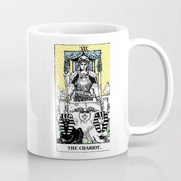 Modern Tarot 7 - The Chariot Coffee Mug