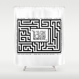 Respect Your Mother Shower Curtain