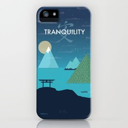 Tranquility (Night) iPhone Case