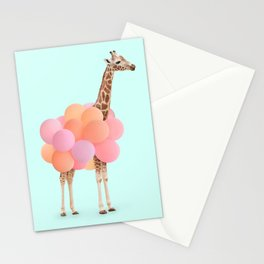 GIRAFFE PARTY Stationery Cards