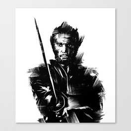 The Samurai Canvas Print