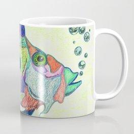 Funky Fish Art - By Sharon Cummings Coffee Mug