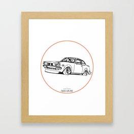 Crazy Car Art 0190 Framed Art Print