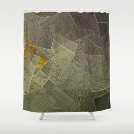 Smog Shower Curtain