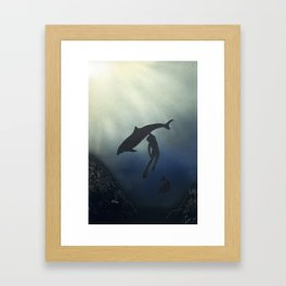 Oceans Framed Art Print