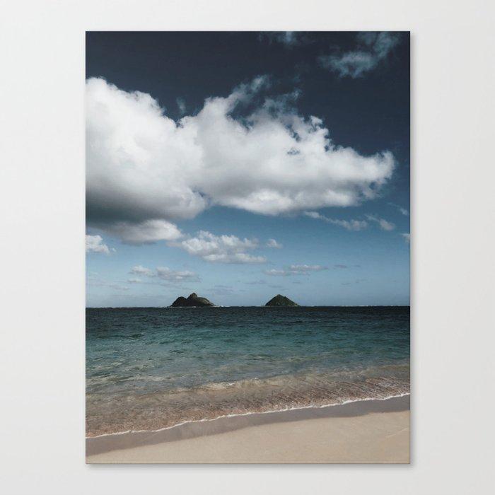 Lanikai Beach Canvas Print