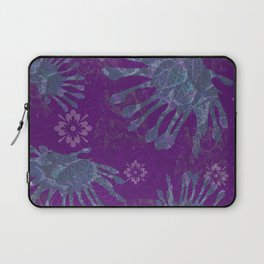 African Daisy Batik Laptop Sleeve
