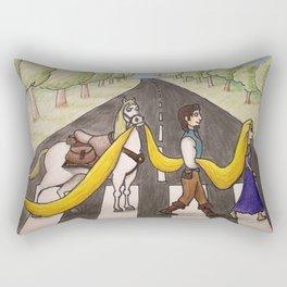 Tangled Road Rectangular Pillow