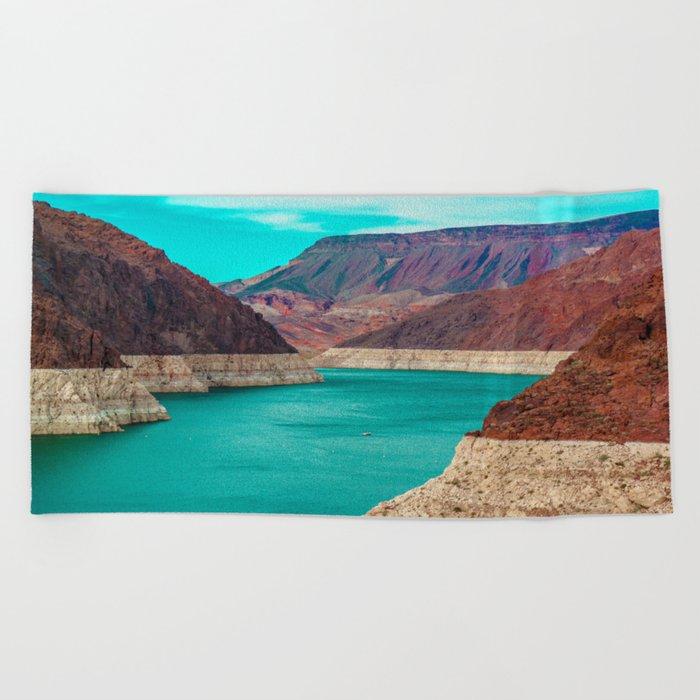 The Dam Beach Towel