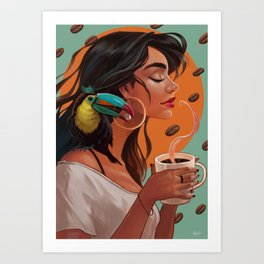 Americano Art Print