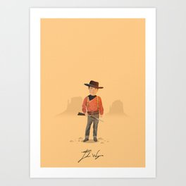 John Wayne - The Searchers Art Print
