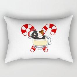 Pug Nog Rectangular Pillow