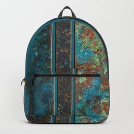 Metal Patina Stripes #2 Backpack