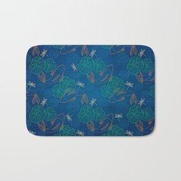 Koi Pond on Washi Silk Bath Mat