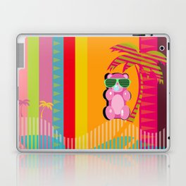 Throwback Beach Gummy Bear  Laptop & iPad Skin