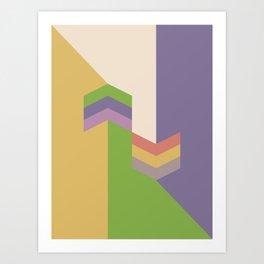 Poligonal 259 Art Print