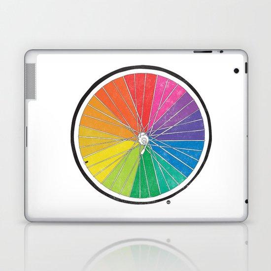 Color Wheel (Society6 Edition) Laptop & iPad Skin