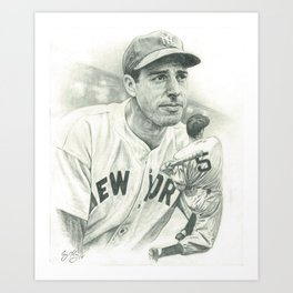 Joltin' Joe Art Print