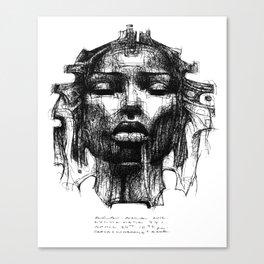 :: Mystik Mask 441 :: Canvas Print