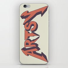 Artsy too iPhone & iPod Skin