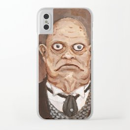 Obediah Marsh Clear iPhone Case