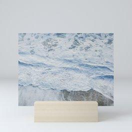 above the pacific Mini Art Print