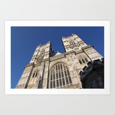 Westminster Abbey, London (2012) Art Print