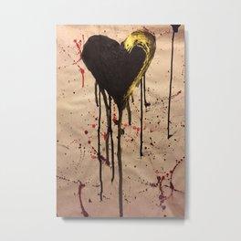 Tainted Heart Metal Print