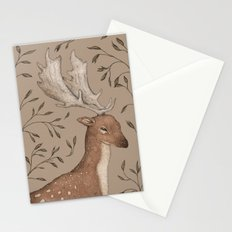 The Fallow Deer and Oats Stationery Cards